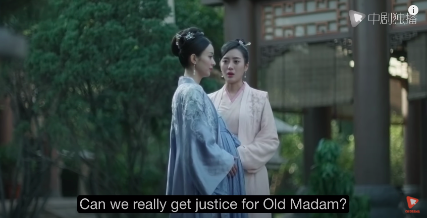 story of minglan episode 62, justice for old madam