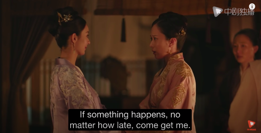 story of minglan episode 62, late night watch