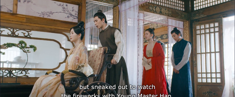 romance of tiger and rose episode 16, intentions for lu peng