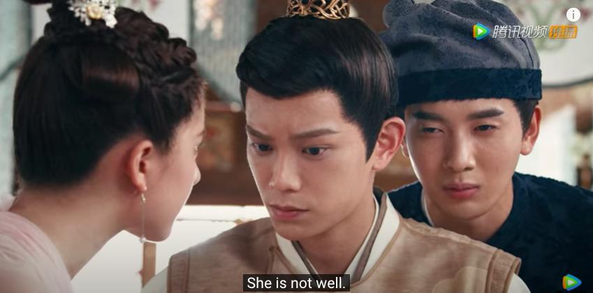 romance of tiger and rose episode 6, chen chuchu's injury