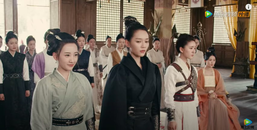 romance of tiger and rose episode 5, court