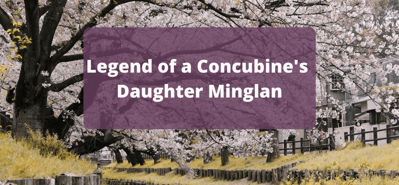 Concubine's Daughter Minglan Chinese Web Novel