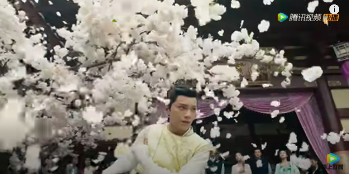 romance of tiger and rose episode 2, Han Shuo's sword dance