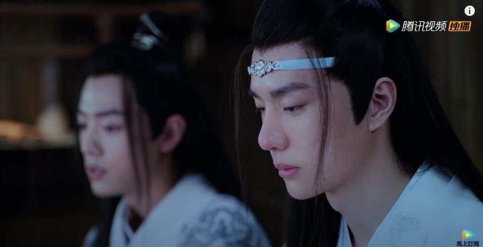 the untamed episode 6, lan wangji's parents