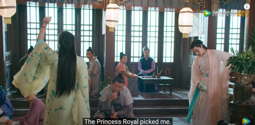 romance of tiger and rose episode 17, lu peng's arrogance