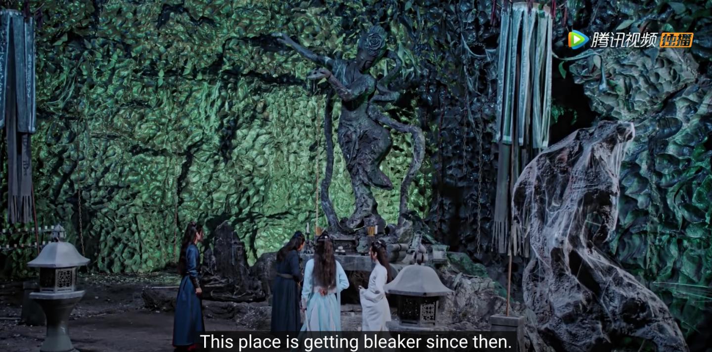 the untamed episode 8 sealed statue