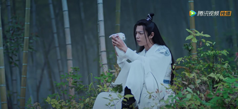 the untamed episode 8 wei wuxian interrogates rabbit