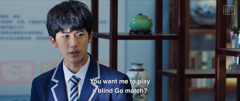 hikaru no go episode 6 recap blind go match