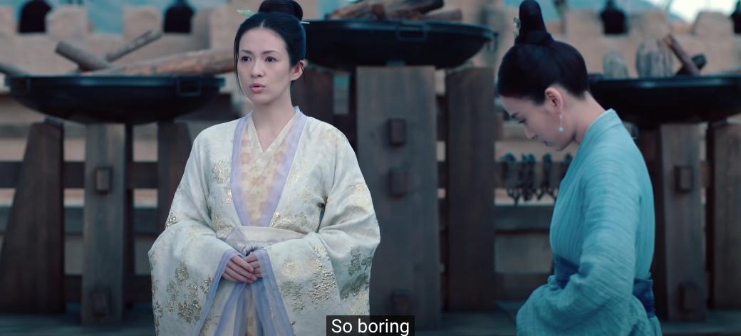 rebel princess episode 12 xiao qi is boring