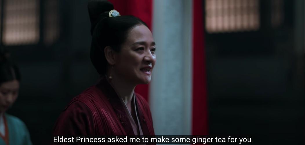 rebel princess episode 7 ginger tea