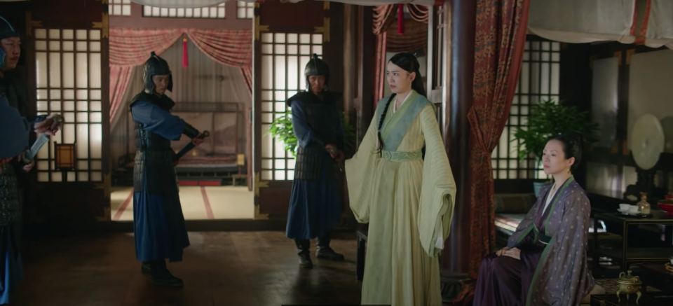rebel princess episode 15 recap yuxiu protects awu